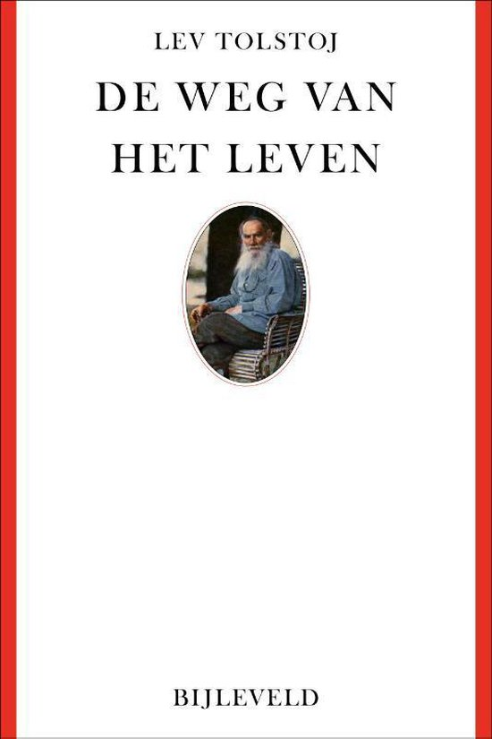 Boek cover De weg van het leven van Lev Nikolajevitsj Tolstoj (Hardcover)