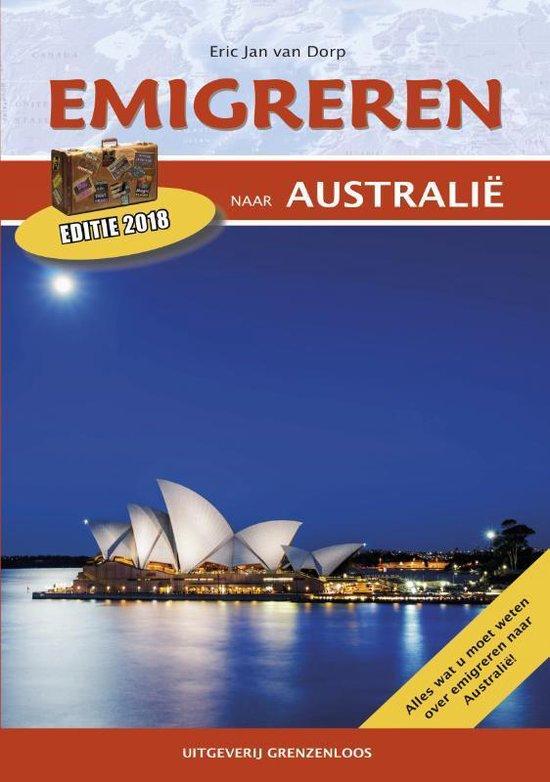 Boek cover Emigreren naar Australië 2016 van Eric Jan van Dorp (Paperback)