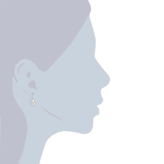 Valero Pearls Valero Pearls Parel oorbellen Sterling zilverkleurig Gekweekte zoetwaterparels wit - Valero Pearls