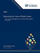 Measuring the Value of Public Goods