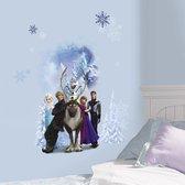 Disney Frozen Muursticker figuren - Muursticker - 48x68 cm - Wit