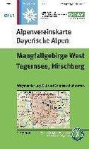 DAV Alpenvereinskarte Bayerische Alpen 13 Mangfallgebirge West 1 : 25 000