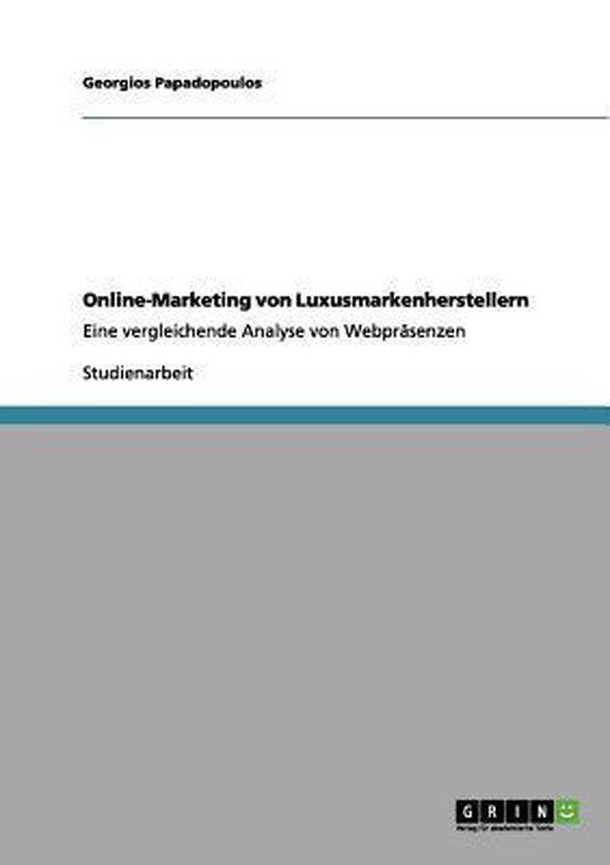 Online-Marketing von Luxusmarkenherstellern