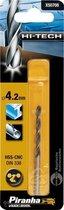 Piranha HI-TECH metaalboor 4,2mm X50708