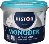 Histor Monodek Muurverf, Wit - 10 liter