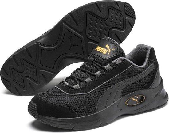 PUMA Nucleus Lux Sneakers Unisex - Puma Black-CASTLEROCK - Maat 43