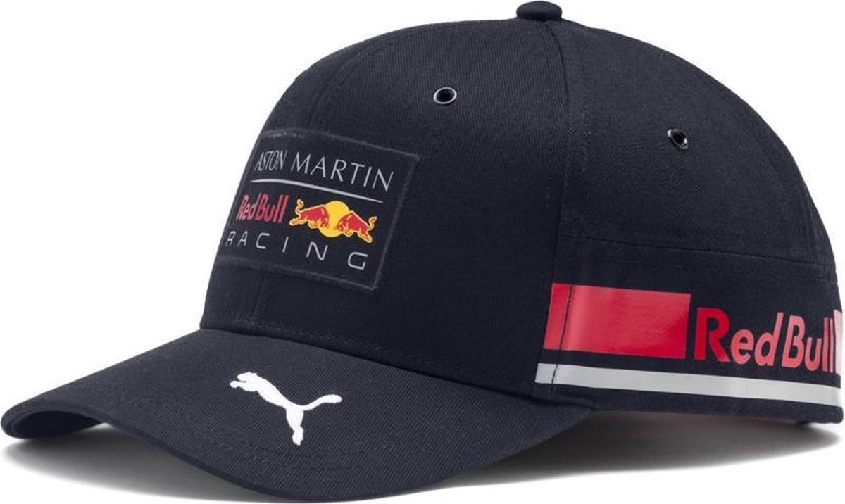 PUMA Red Bull Racing Replica Team Cap Cap Unisex - Night Sky-chinese Red - Maat One size