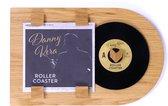 LP lijst | vinyl wissellijst | Klassiek eiken | Vinylplaat decoratie | Single formaat - 7 inch