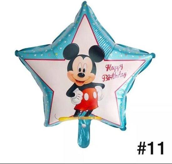 Disney Mickey of Minnie Mouse Folieballon dubbelzijdig/Verjaardag/Feest/Folieballon(11)