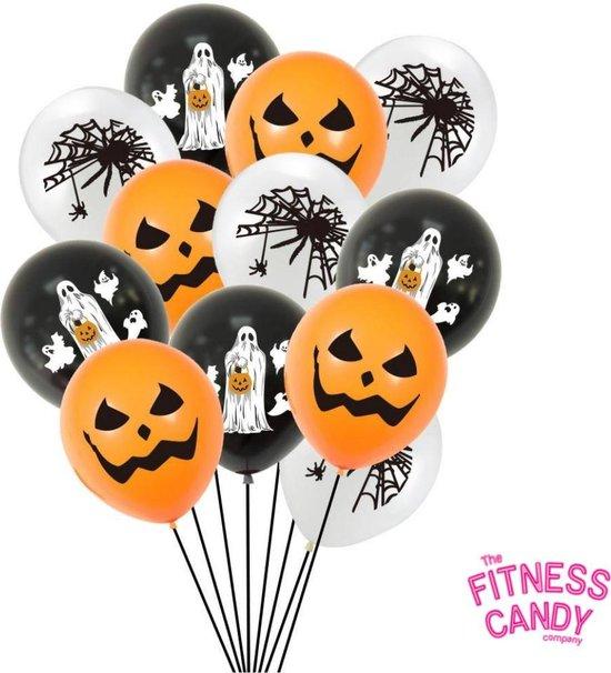 Halloween Ballonnen - Set van 6 ENGE ballonnen - Perfect voor versiering