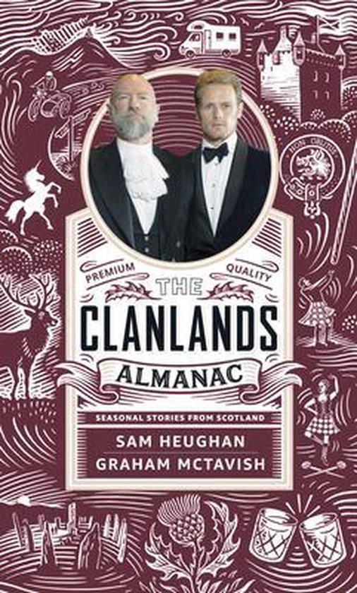 Boek cover The Clanlands Almanac van Sam Heughan (Hardcover)