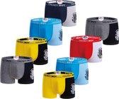 AltinModa® 8 pack jongens ondergoed - Voordelige jongens boxershort - katoenen onderbroek 116/122 1046