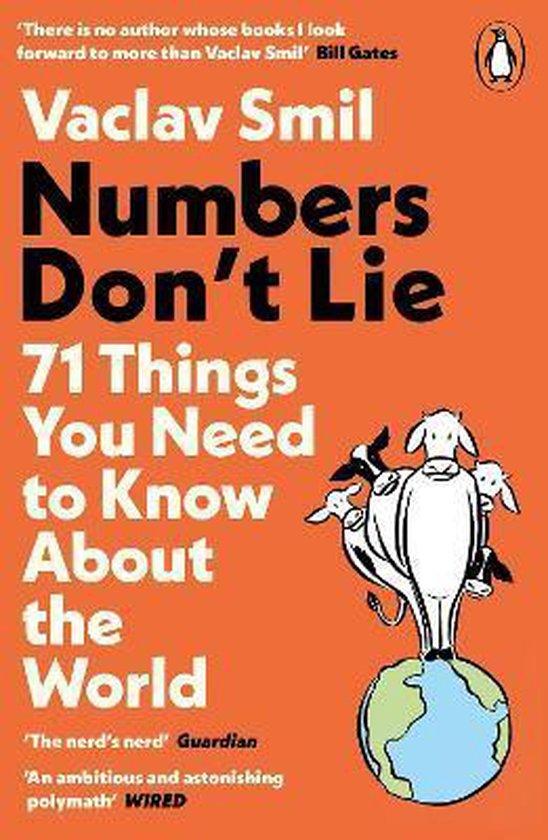 Boek cover Numbers Dont Lie van Vaclav Smil (Paperback)