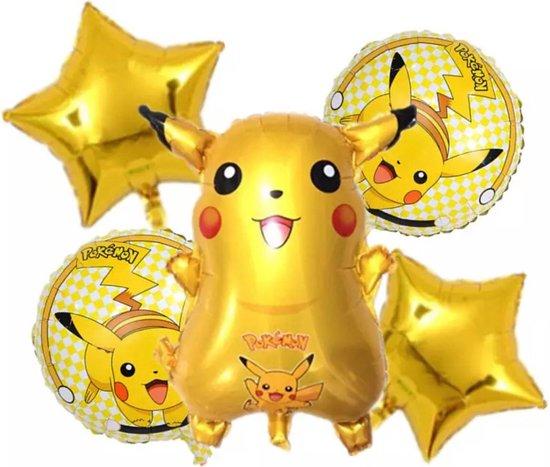 Pikachu Pokemon Aluminium Ballon  Verjaardagsfeestje Decoratie Ballon speelgoed