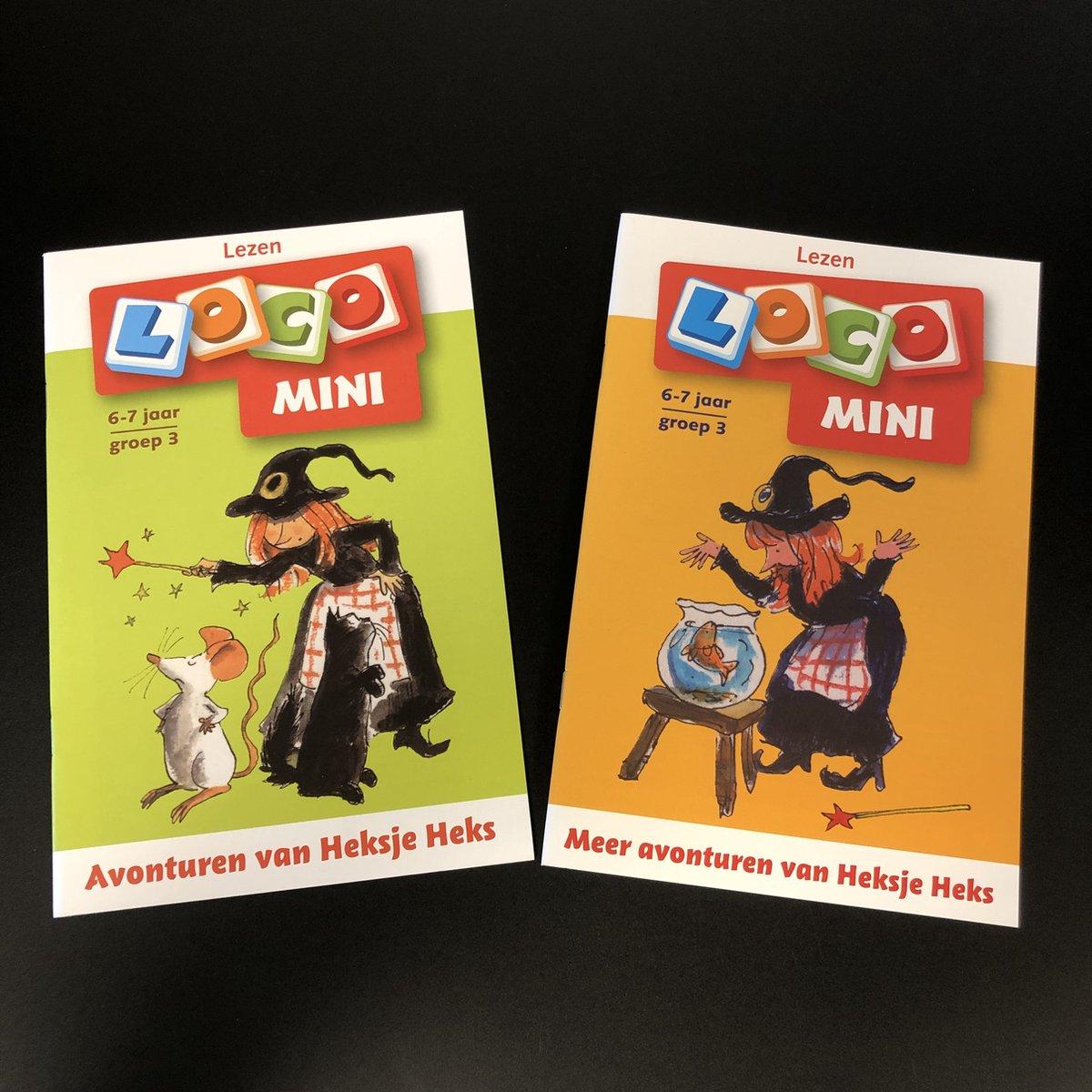 Voordeelset Loco Mini - Avonturen van Heksje Heks + Meer avonturen met Heksje Heks - groep 3/4