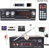 Dakta® Versterker | Hifi Bluetooth Eindversterker | 800W | MP3/Computer/DVD/VCD/USB | Afstandsbediening