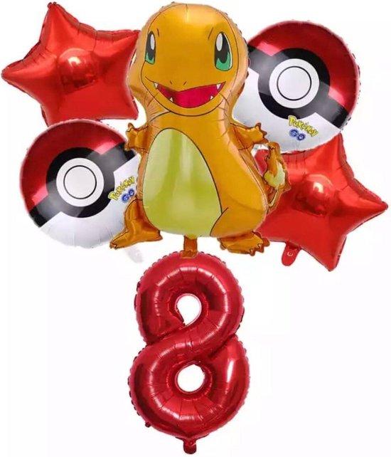 Pokemon Charmander Ballonpakket Droom Thema Party Decoratie nummer 8