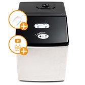CuisiNoon® IJsblokjesmachine - Incl IJsemmer & IJsschep - IJsblokjesmaker - 24 ijsblokjes in 14 min.