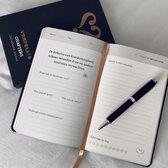 Vertellis Chapters mindfulness-dagboek. - Zwart