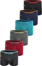 AltinModa® Microfiber Boxershort jongens SJ11 - Jongens ondergoed - VOORDELIGE 6 PACK 10-12 jaar 146/158