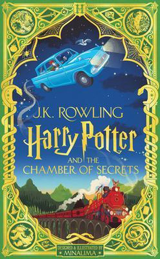 Boek cover Harry Potter and the Chamber of Secrets (Minalima Edition) (Illustrated Edition), 2 van J.K. Rowling (Hardcover)