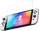 Nintendo Switch Oled Screenprotector Glas - Accessoires Beschermglas Screen Protector