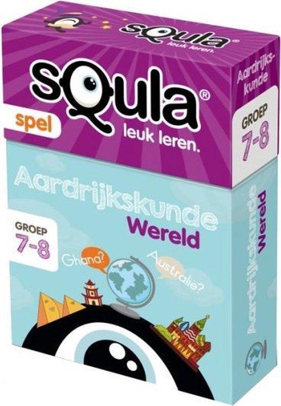 Afbeelding van het spel Squla aardijkskunde wereld leerspel