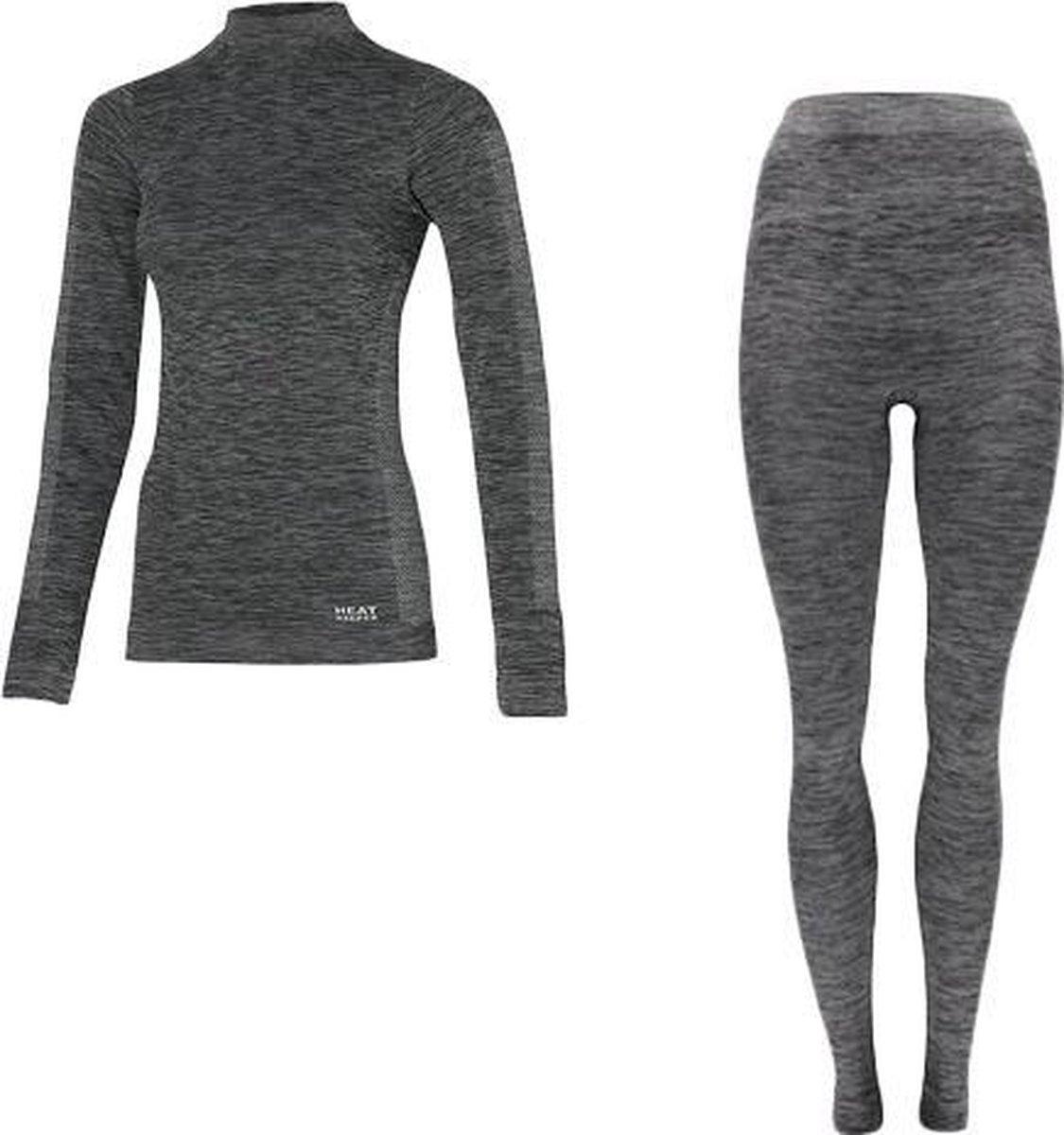 Premium thermokleding - Type: Dames, maat L - Broek en shirt - Thermoset