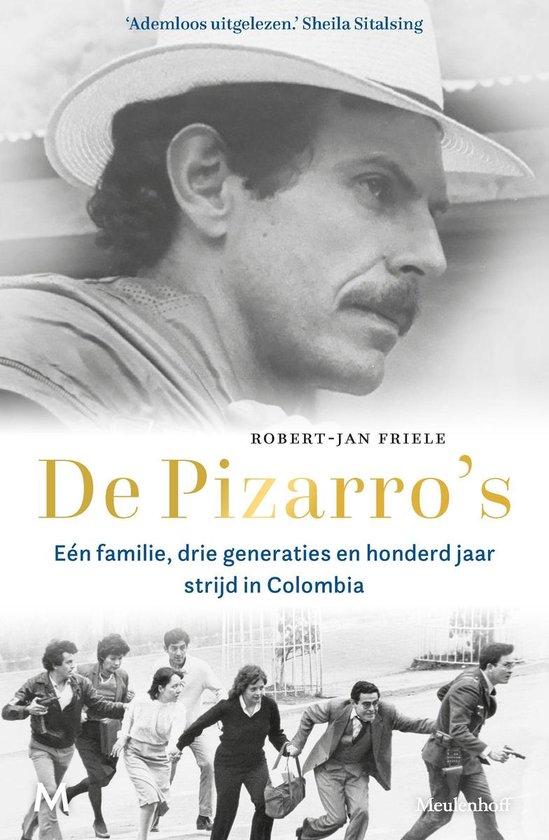 Boek cover De Pizarros van Robert-Jan Friele (Onbekend)