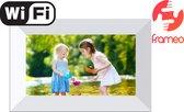 Denver PFF-726 WHITE - Digitale Fotolijst - Fotokader - 7 inch - IPS touchscreen - met Frameo software - Wit