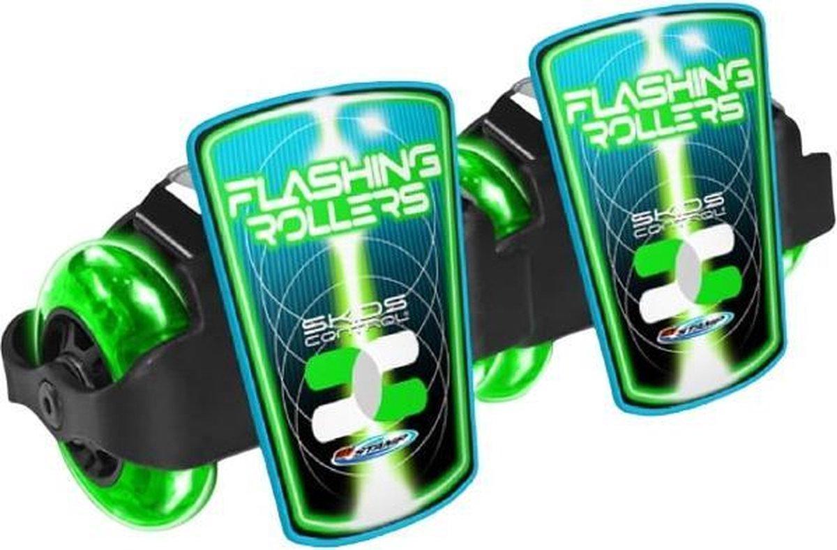Skids Control Flashing - Rolschaatsen - Unisex - Groen;Zwart