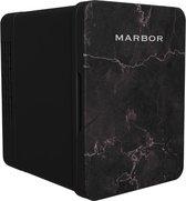 Marbor FW214 Pro - 4L Mini Fridge - Voor skincare, eten, drinken en medicijnen - 4 Liter - Black Edition