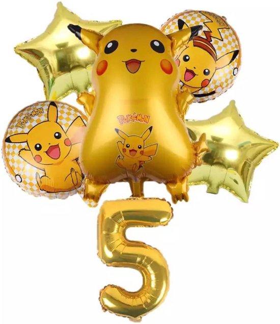 Pokemon Ballon Droom Thema Party Decoratie Benodigdheden Pikachu Verjaardagsfeestje , Nummer 5