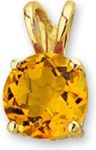 Sparkle14 Citrien Hanger Goud
