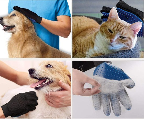 Kattenbak Accessoires Set - Kattenbakmat Inclusief GRATIS kattenbak schep en handschoen - 30x40 cm - Grit Opvanger- Katten Grit Mat- Waterdichte Kattenbak Mat - Gritmat - Uitloopmat - Cat Litter Mat - Litter Mat