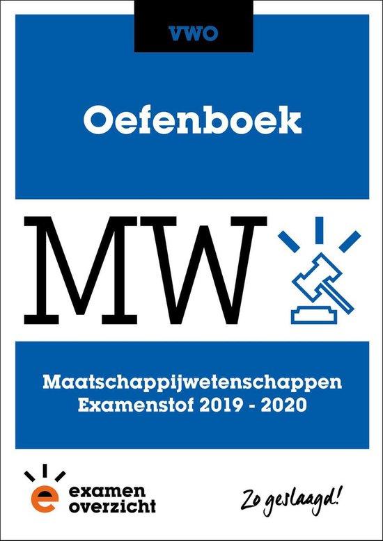ExamenOverzicht - Oefenboek Maatschappijwetenschappen VWO - ExamenOverzicht  