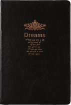 D6040-01 Dreamnotes notitieboek gedicht 21,5 x 14,5 cm zwart