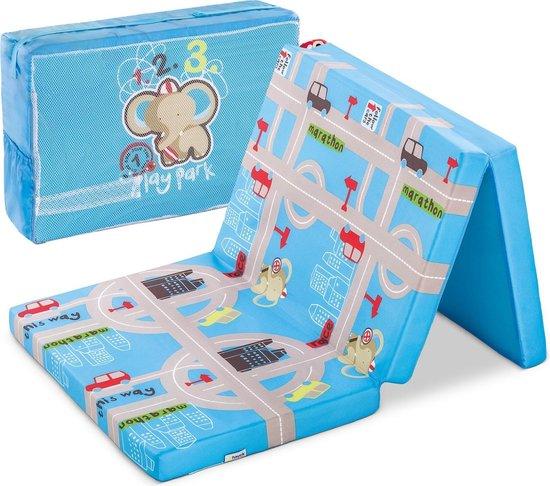 Hauck Sleeper Babymatras 60x120cm - Blauw