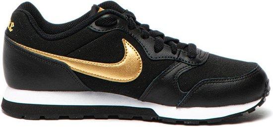 Nike Sneakers - Maat 36 - Unisex - Zwart/goud/wit