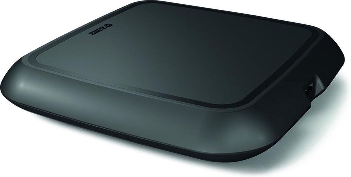 ZENS Single Fast Wireless Charger geoptimaliseerd voor Apple iPhone - Zwart - Zens