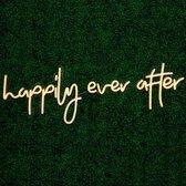 Happily Ever After Neon LED Light Sign Lamp Verlichting Licht Bord Winkel Display Bedrijfslogo Dim Verstelbaar