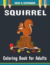Squirrel Coloring Book for Adults