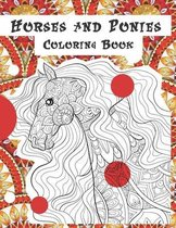 Horses and Ponies - Coloring Book