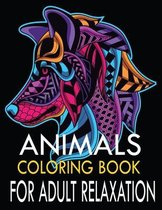 Animals coloring Book for adult Relaxation