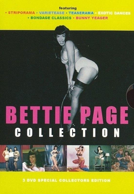 Cover van de film 'Bettie Page Coll'