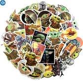 Baby Yoda - The Mandalorian - Star Wars - 50 baby Yoda Stickers