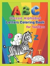 ABC - Classic Alphabet Letters Coloring Book for Toddlers