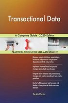 Transactional Data A Complete Guide - 2020 Edition