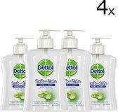 Dettol Handzeep Hydraterend - 4 x 250 ml Voordeelverpakking