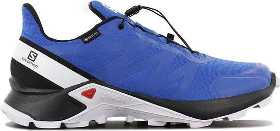 Salomon Supercross GTX - GORE-TEX - Heren Trail Running Schoenen  Sportschoenen Wandelschoenen Blauw 409541 - Maat EU 46 2/3 UK 11.5